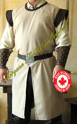 Medieval Knight Men-at-arms SCA Surcoat Deluxe with Wings