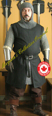 Medieval Knight Men-at-arms SCA Short Slitted Surcoat