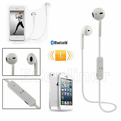 Bluetooth Wireless Headset SPORT Stereo Headphone Earphone For iPhone 7 6 6 Plus