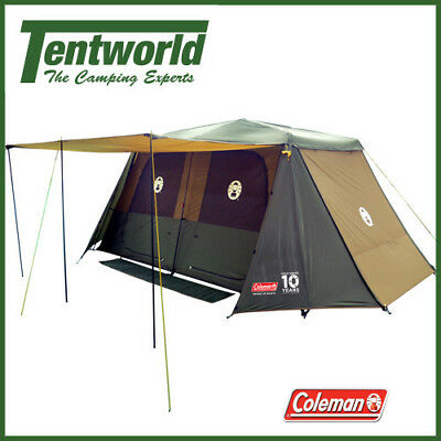 Coleman Instant Up 10 - 10 Man / Person Camping Tent - Gold Series