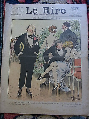 LE RIRE N°41 11 octobre 1919 couv GUILLAUME & MIRANDE Old french lampoon paper