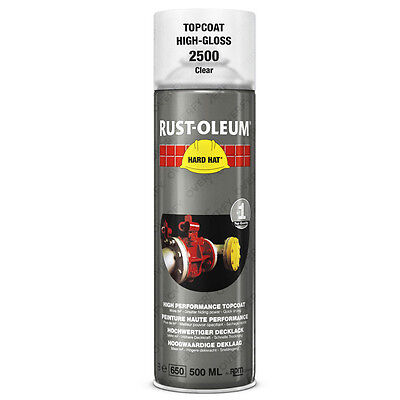 x16 Very High Coverage Rust-Oleum Transparent Clear Lacquer Spray Paint Hard Hat