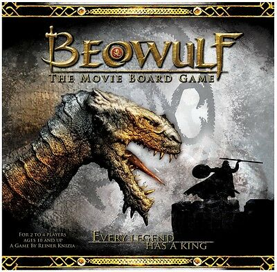NEW Beowulf: The Movie Board Game - Fantasy Flight Games - SEALED