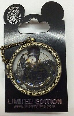 Disney Pin Alice Through The Looking Glass Pocket Watch Opening Day Pin LE Pin
