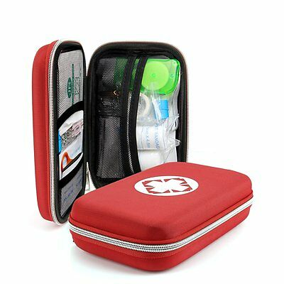 Outdoor First Aid Kit Survival Medical Bag Pouch Treatment Case Emergency Rescue