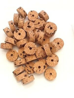 """Cork Rings 50 Extra Light Mix 1/2"""" ,  Super Buy! Special Pricing!"""