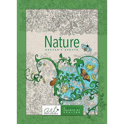 NEW Art Unplugged Nature - Heaven s Breath Coloring Book 1940899001