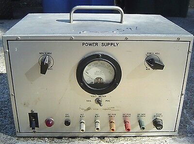 Hickok Electrical Instrument Co Model 46R Gauge 46 R Power Supply