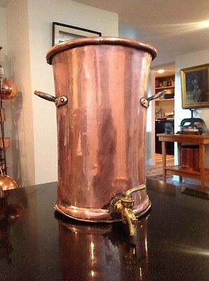 Large Antique Copper Water urn