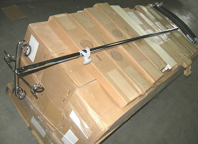 New 4-Hook I.V. Top Post 70018-1 Heavy Base 70024-1 IV Pole Stand