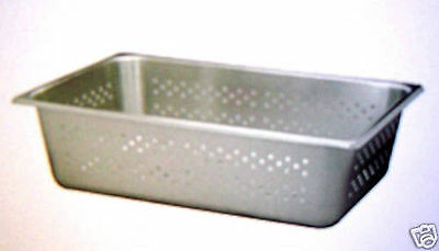 New Stainless Steel Steam Table Perforated Pan