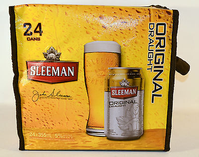 Sleeman Beer Insulated 24 Can Cooler Bag Promotion Bag New #2