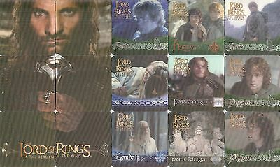 Lord Of The Rings Return Of King Movie 2003 3D Action Flipz Base Card Set Of 60
