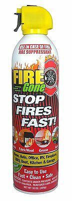 MAX Professional 7102 Fire Gone Portable Extinguisher, ABC Rated, (16 oz)