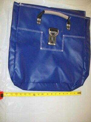 6 Blue Sand Bag Covers Tent Inflatable Bounce House Anchor Vinyl Sandbags Cover