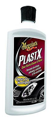 Meguiar's PlastX Cloudy Yellow Headlights Car Cleaner Polish Clear Plastic 10oz