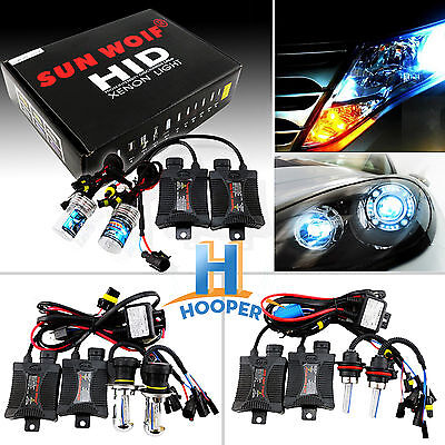 Canbus Terminator Hid Xenon Conversion Slim Kit Bulbs H1 H3 H4 H7 H11 9005 9006