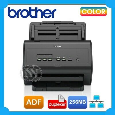 Brother ADS-3000N Sheetfed High Speed Advanced Document Scanner+Duplexer 50PPM