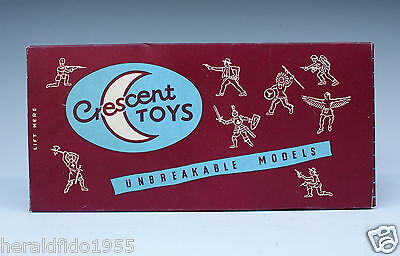Crescent Toys #588 Red Berets 8 Piece 'Unbreakable' Figure Set Mint in Box...!!
