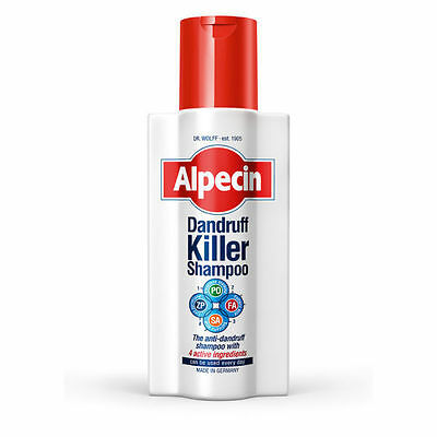 Alpecin Powerful Defence System Dandruff Killer Shampoo For Irritated Dry Scalps