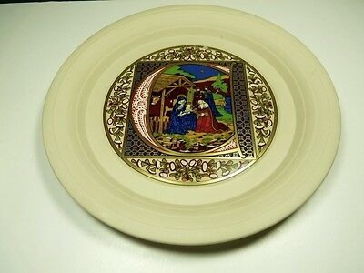 1979 Hornsea Christmas Plate Limited Edition