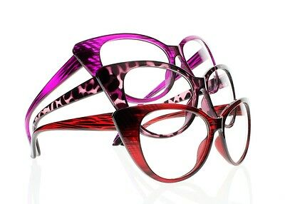Women Fashion Colorful Cat Eye Reading Glasses Readers 9 Colors +1.00 ~ +4.00