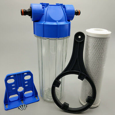 Koi Pond Water Filter For Fish Pond Dechlorinator Chlorine Removal x 2 Filters