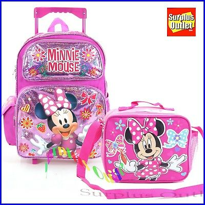 e83bae7c0d36 Minnie Mouse Rolling Backpack 16