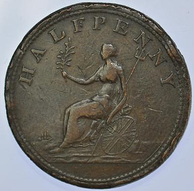 Ireland - 1801 George III The Union Half penny Token Scarce