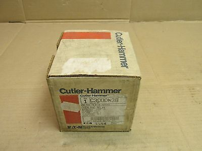 Nib Cutler Hammer C300Dn3B Overload Relay Size 2 50 Amp 3 Pole Contactor Realy