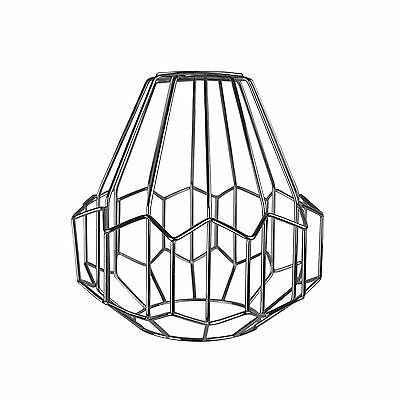Modern Chrome Metal Wire Frame Ceiling Light Pendant Shade Chandelier