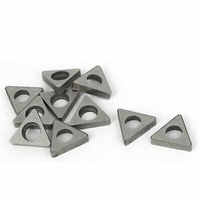 Triangle Shape Carbide Cutter Insert MT1603 10 Pcs for Woodturning