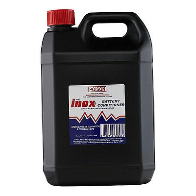 INOX MX2 Battery Conditioner Extends Car Boat Battery Life 5 Litre Bottle