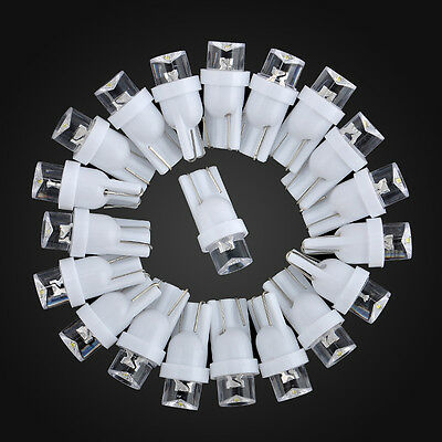 New 20Pcs T10 Car White LED 194 168 SMD W5W Wedge Side Light Bulb Lamp 12V DC