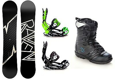 Snowboard Raven Pulse Camber +Bindung Raven Fastec FT270+Boots Northwave Force