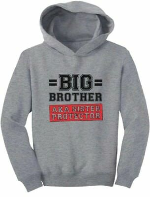 Gift for Big Brother AKA Little Sister Protector Toddler Hoodie Boys