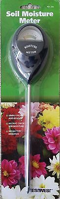 Soil Moisture Meter Garden Water Rain Monitor Rainfall Plants Flowers