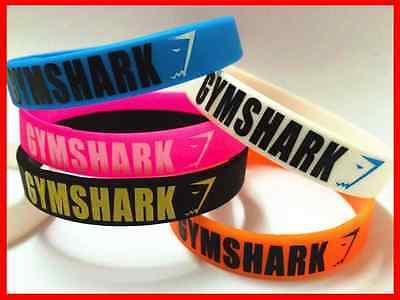 Gym Shark Silicone Wrist Band Gymshark Sports Fitness Bracelet High Quality