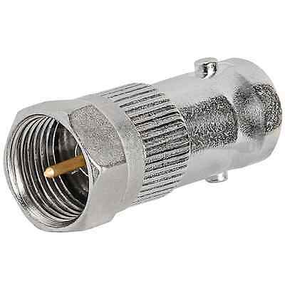 F type Male to BNC Female Coax Connector Adapter CCTV RG6 RG59