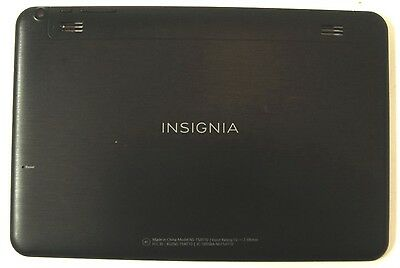 "Insignia Flex 32GB NS-P10A6100 10.1/"" Genuine Back Cover Rear Housing"