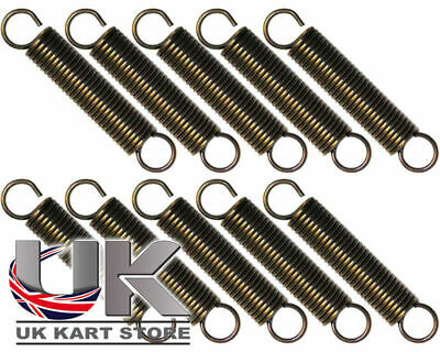 Iame X30 Exhaust Springs 67mm x 12mm High Tension x 10 UK KART STORE