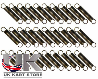 Iame X30 Exhaust Springs 67mm x 12mm High Tension x 30 UK KART STORE
