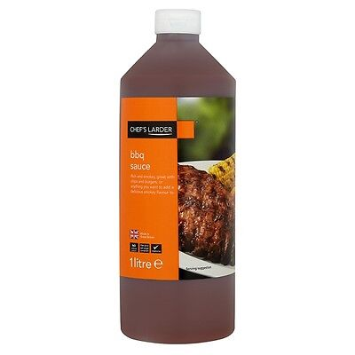Chefs Larder Bbq Sauce 1Ltr Bottle- Great On Any Food