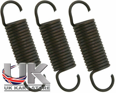 High Tension Exhaust Spring 55mm x 3 UK KART STORE