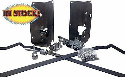 1941-48 Ford Coupe & Tudor Sedan Door Handle Latch Kit Trique - EL-FC4148