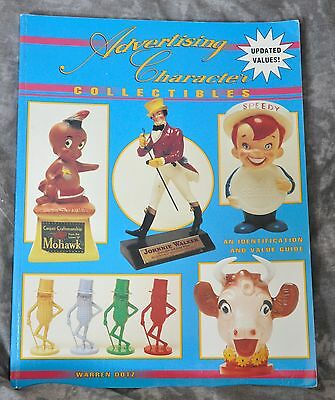 """Advertising Character Collectibles"" Book Price Guide 1997 162 Pages"