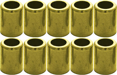 Brass Hose Ferrule 10 Pack for Air Hose & Water Hose #7332
