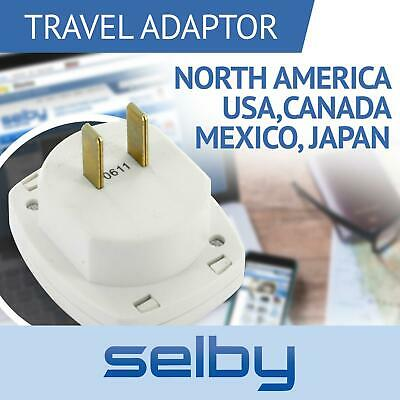 Avico Power Plug Travel Adaptor Type A North America USA Canada Mexico Japan