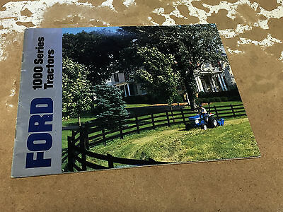 Ford 1000 Series Tractors Brochure