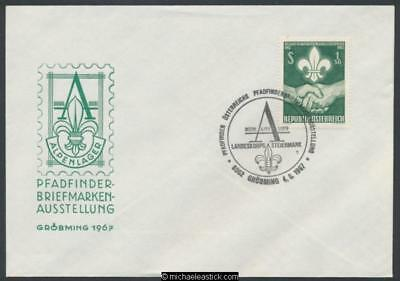 Austria 1967 (Aug) Scout stamp exhibition held in Groebming